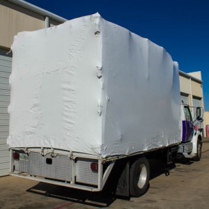 Shrink Wrapped Truck-1