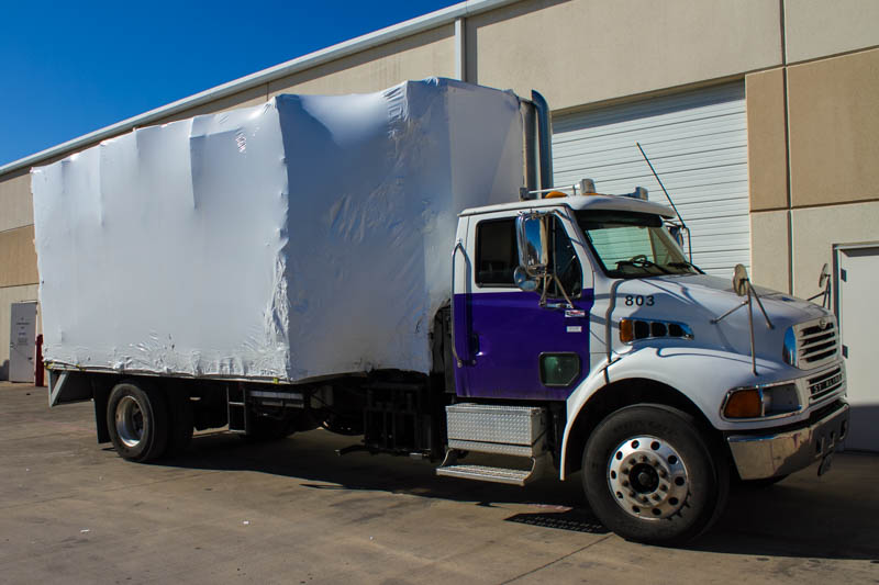 Shrink Wrapped Truck-4