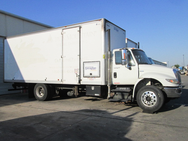 used shred truck 9716
