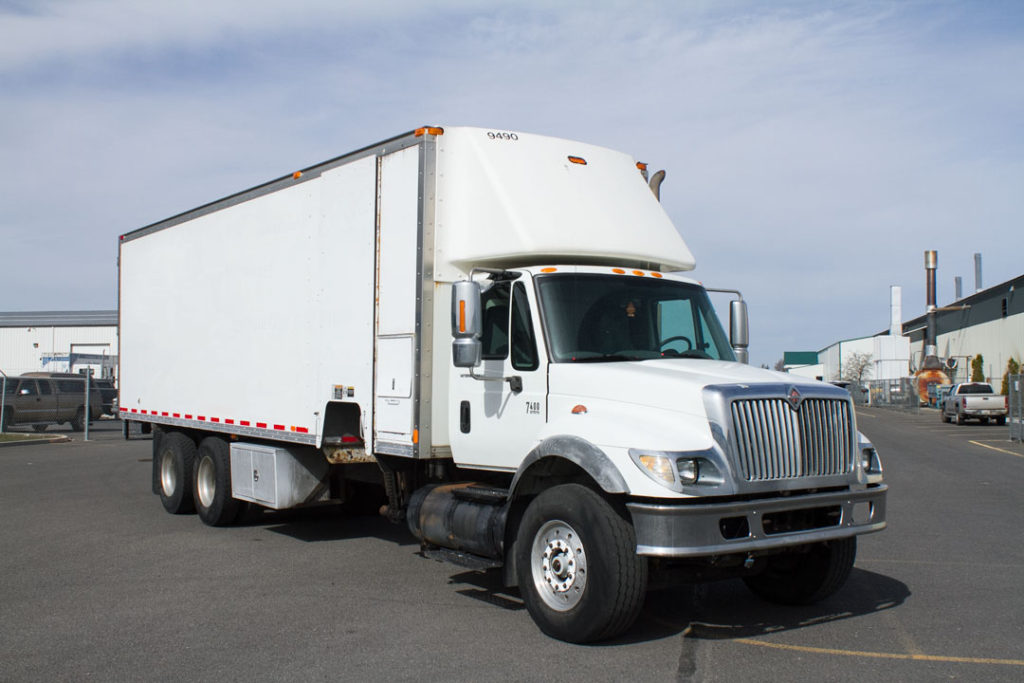 Used Shred Truck ss2577