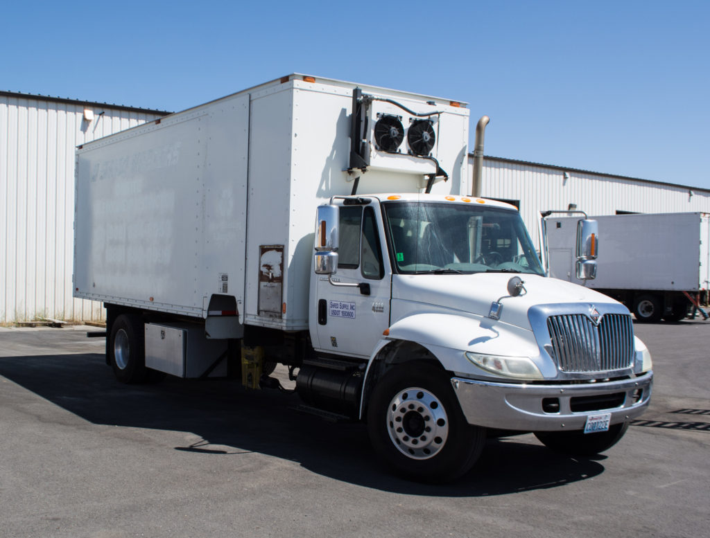 used shredding truck 9286
